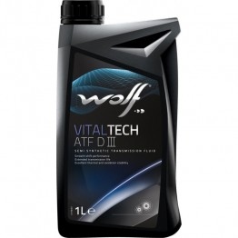 Масло WOLF ATF DIII 1 L