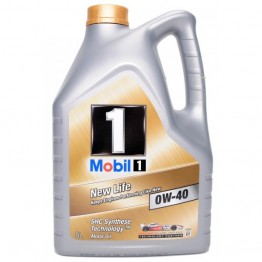 Моторно Масло Mobil 1 New Life 0w40 1 л