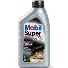 Моторно Масло Mobil Super 2000 10w40 Дизел 1 л