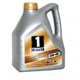 Моторно Масло Mobil 1 New Life 0w40 4 л
