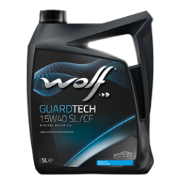 Масло WOLF GUARDTECH 15W40 4 L